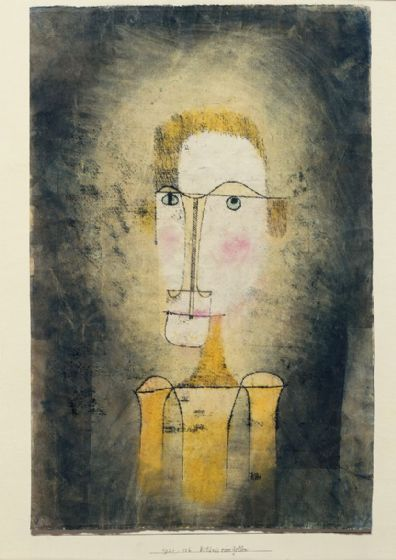 Klee, Paul: Portrait of a Yellow Man. Fine Art Print/Poster (5018)